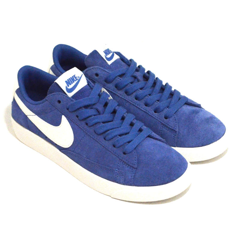 NIKE (WMNS BLAZER LOW SD) SKY BLUE