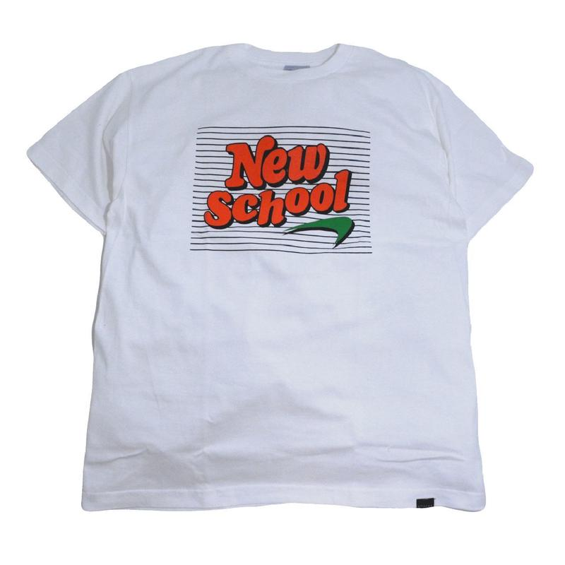 STILLAS S/S T-SHIRTS (NEW SCHOOL) WHITE