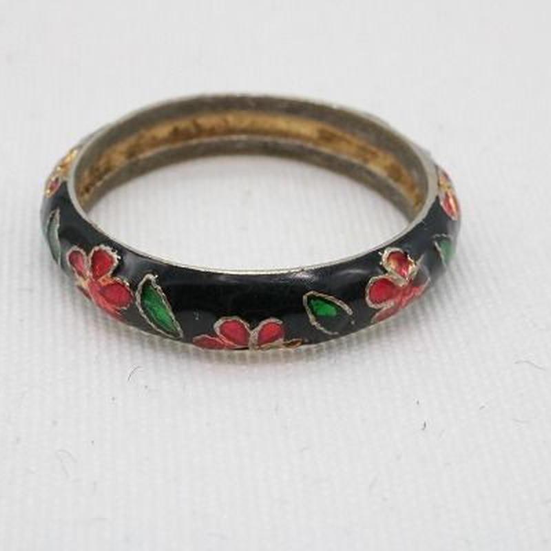 【EC-37】フラワーデザイン 花 リング 指輪