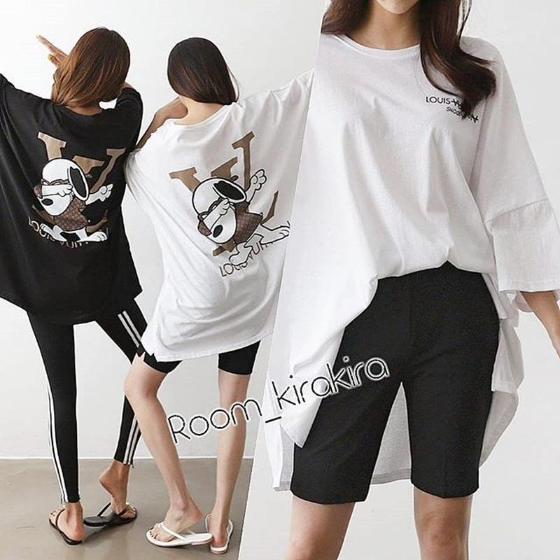 ルイ&スヌーピーコラボTシャツ