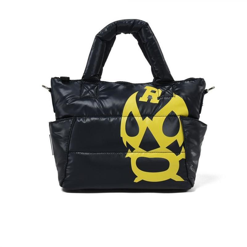 BIG LUCHA PRINT BAG【NAVY】
