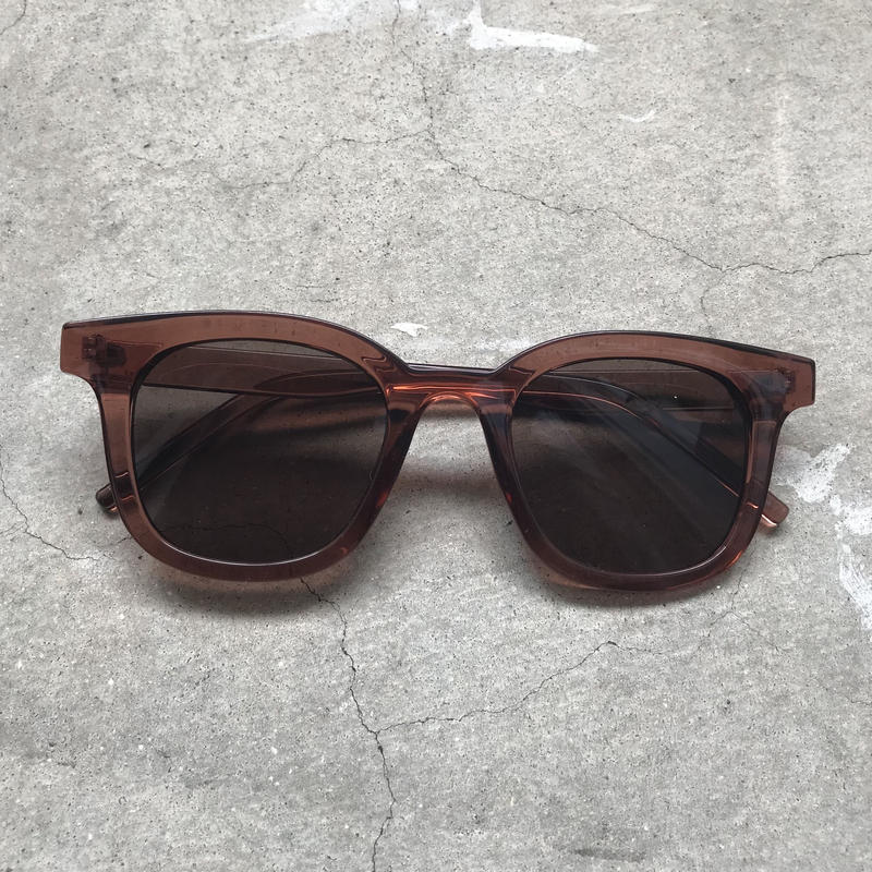 pinkbrown clearflame sunglasses〈StyleNo.010612-2〉