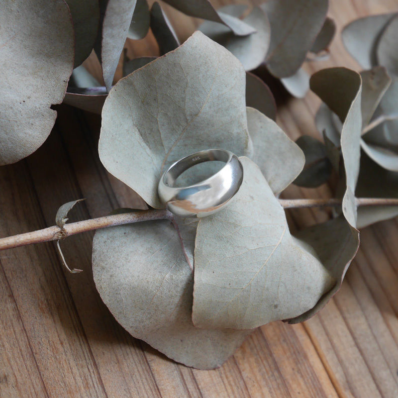 silver925 ring -Plump-〈StyleNo.010613-1〉