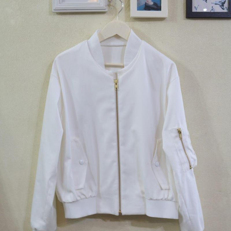 ALL WHITE 【MA-1】