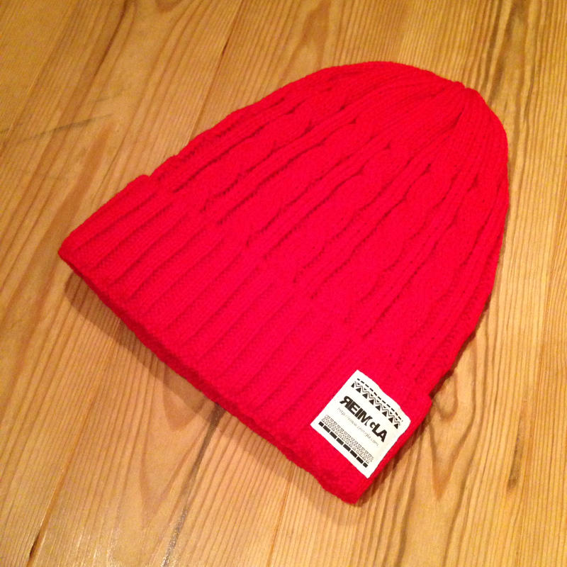 REIMGLA KnitCap(RED)