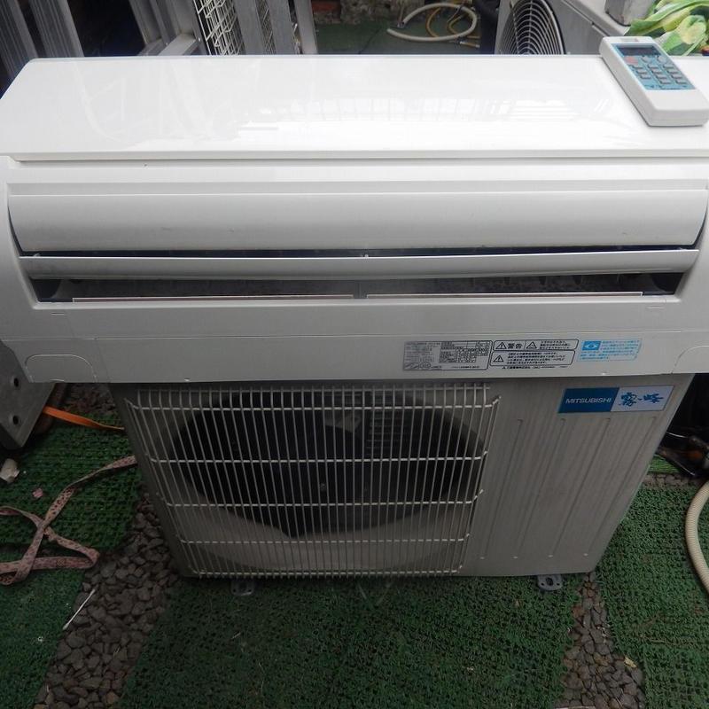 宮崎県内限定工事価格込み三菱電機2.8kw中古エアコン2012年製