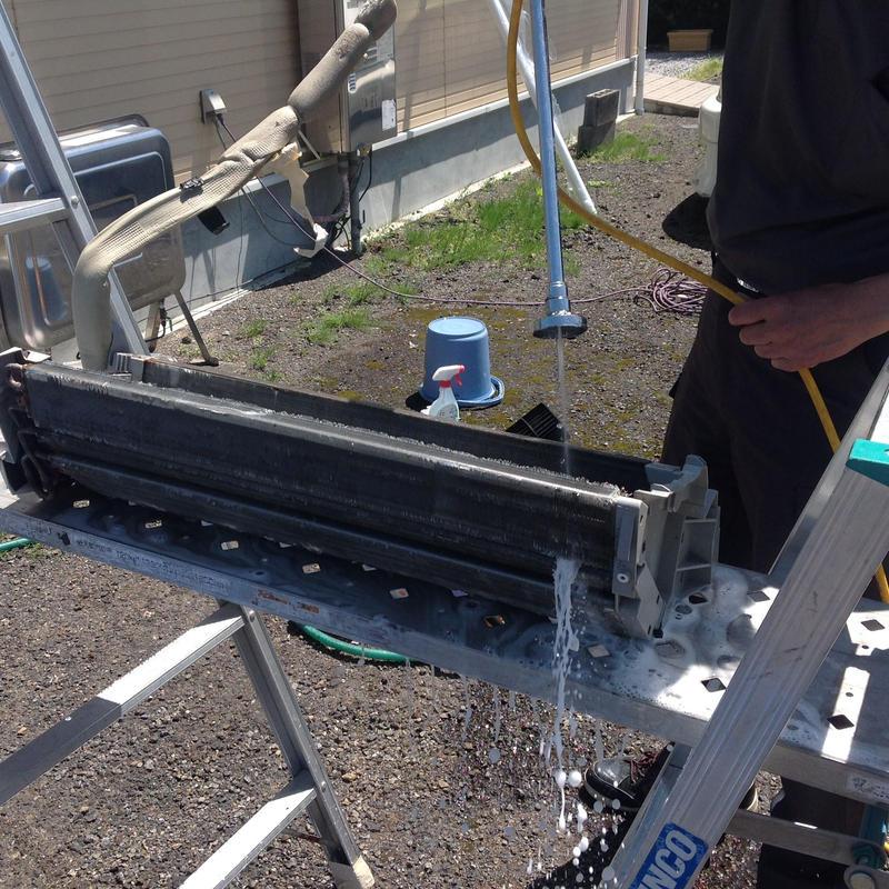 当店オススメ 宮崎県内限定ルームエアコンの取り外し完全分解洗浄クリーニング