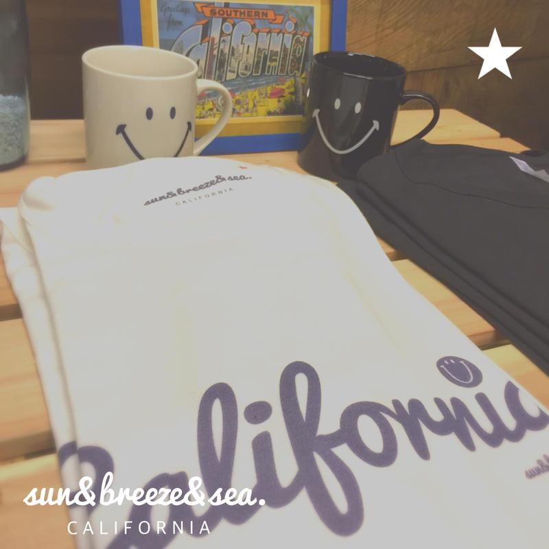 California-SMILE-T,カリフォルニア,スマイル,Tシャツ