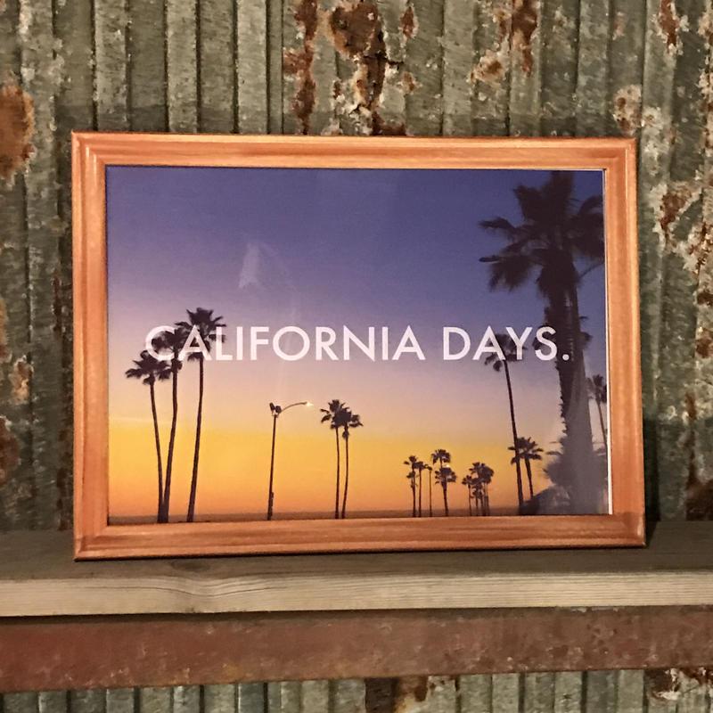 CALIFORNIADAYS./MAGIC HOUR.(A1サイズ)