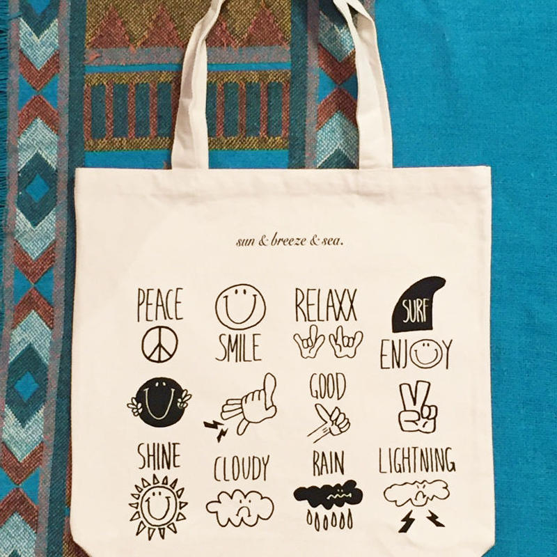 SMILE&RELAXX TOTE BAG/スマイル&リラックストートバッグ