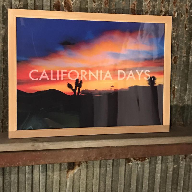 CALIFORNIADAYS./FIRE SUNSET.(A1サイズ)