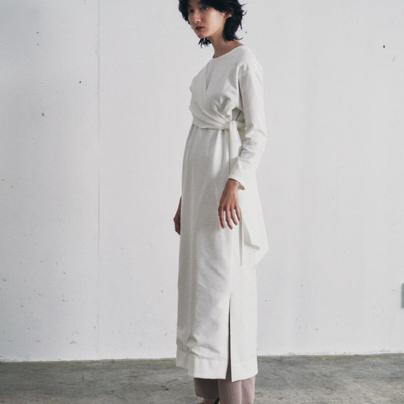 【&her】 Docking Onepiece/White