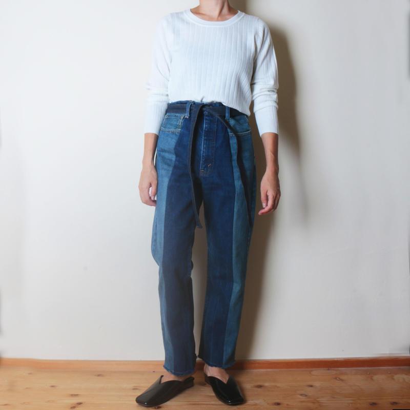 【&her】Washable Rib Knit