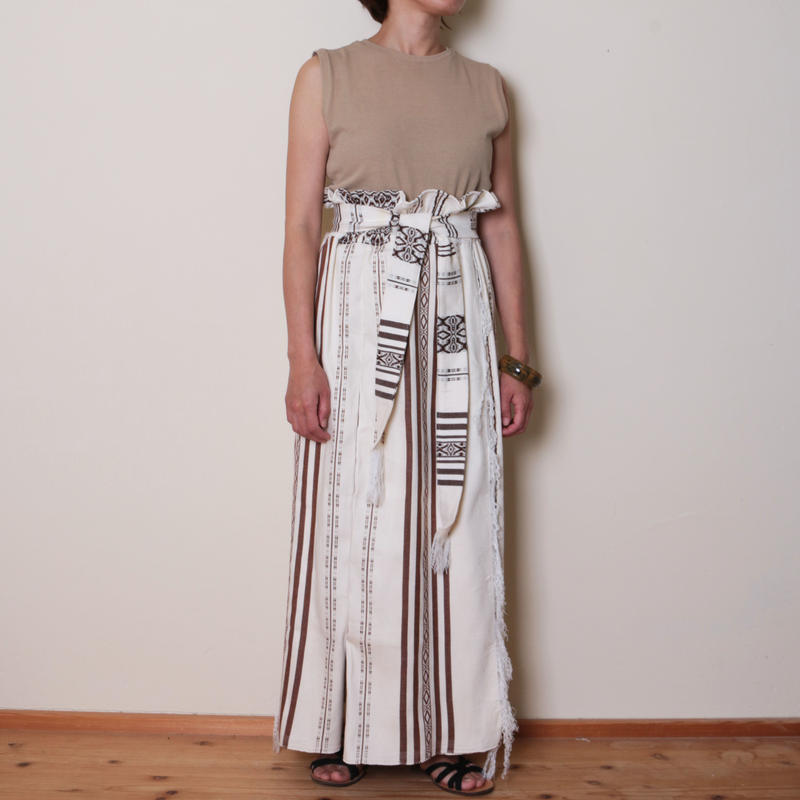【&her】Highwest Skirt/Brown