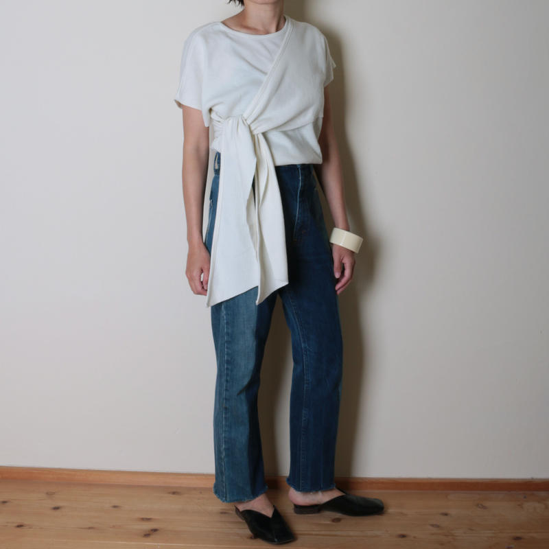 【&her】Docking Tops/White
