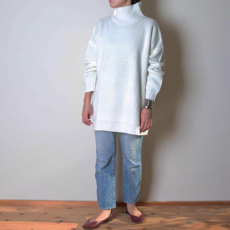 【&her】Turtleneck Knit