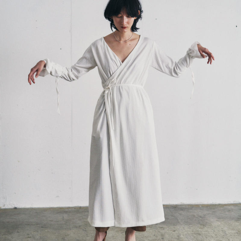 【&her】 Crossover Onepiece/White