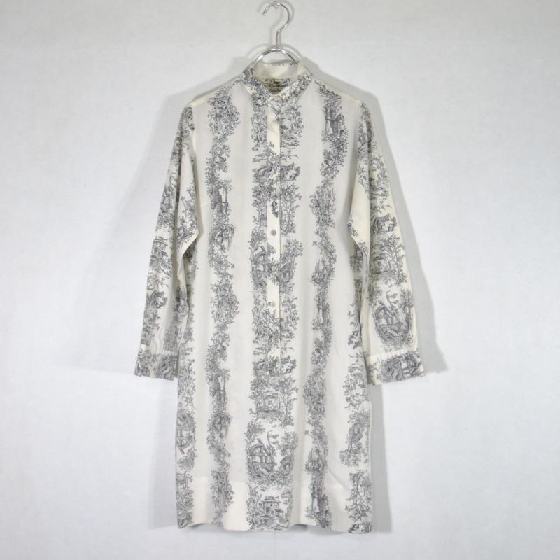 ~70's プリントプルオーバーシャツ/S-0034