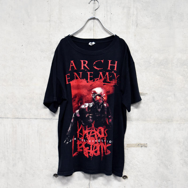00s printed band tee 「ARCH ENEMY」