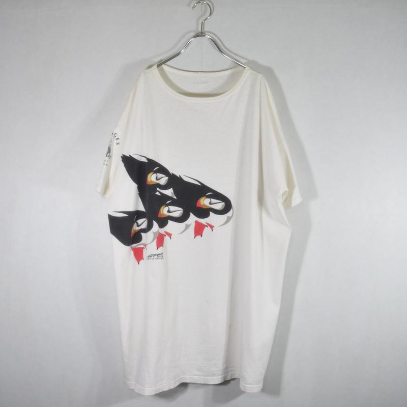 90's アニマルTee 鳥/T-0027