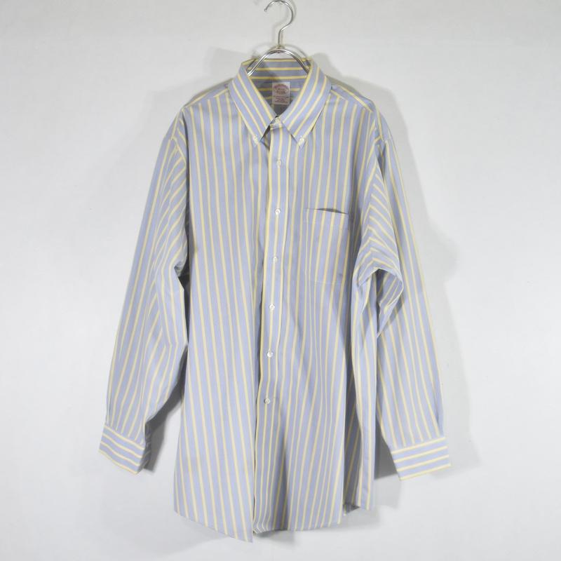 Brooks Brothers ストライプシャツ/ S-0016