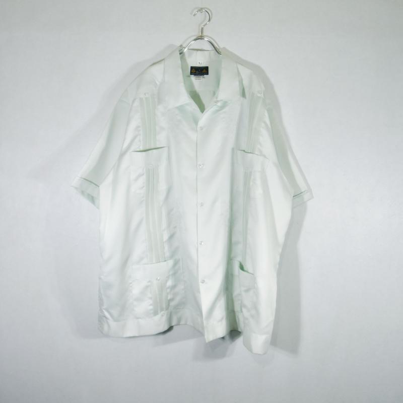 BIG キューバシャツ グリーン/SS-0018