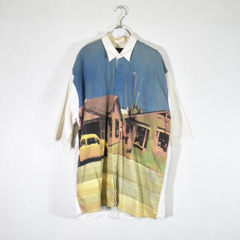 S/S グラフィックプリントシャツ/SS-0024