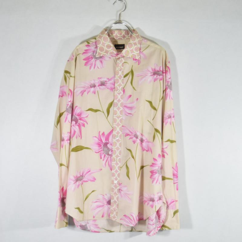 COAST フラワーパターンシャツ/S-0022