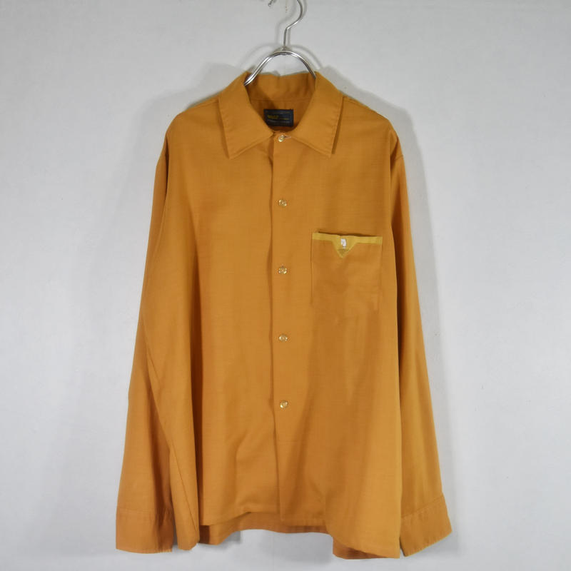 70's ボックスシャツ/S-0020