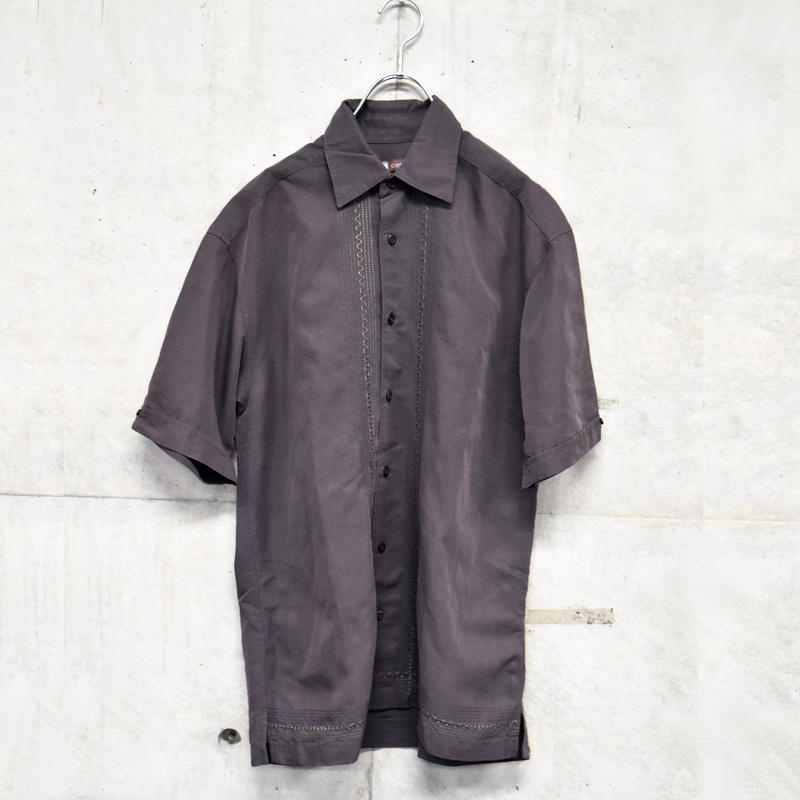 S/S embroidery design shirt