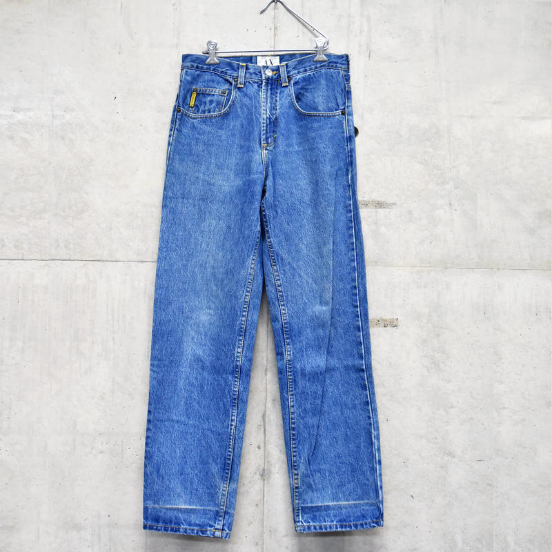 90s Armani Exchange straight denim pants