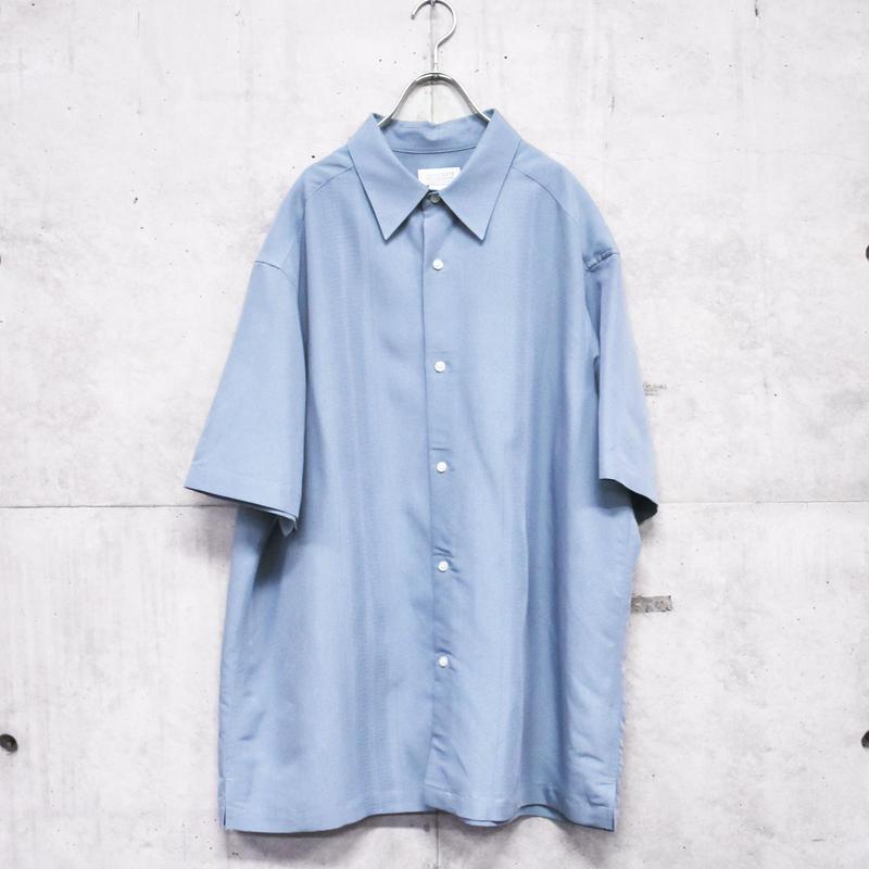 S/S  front side design shirt