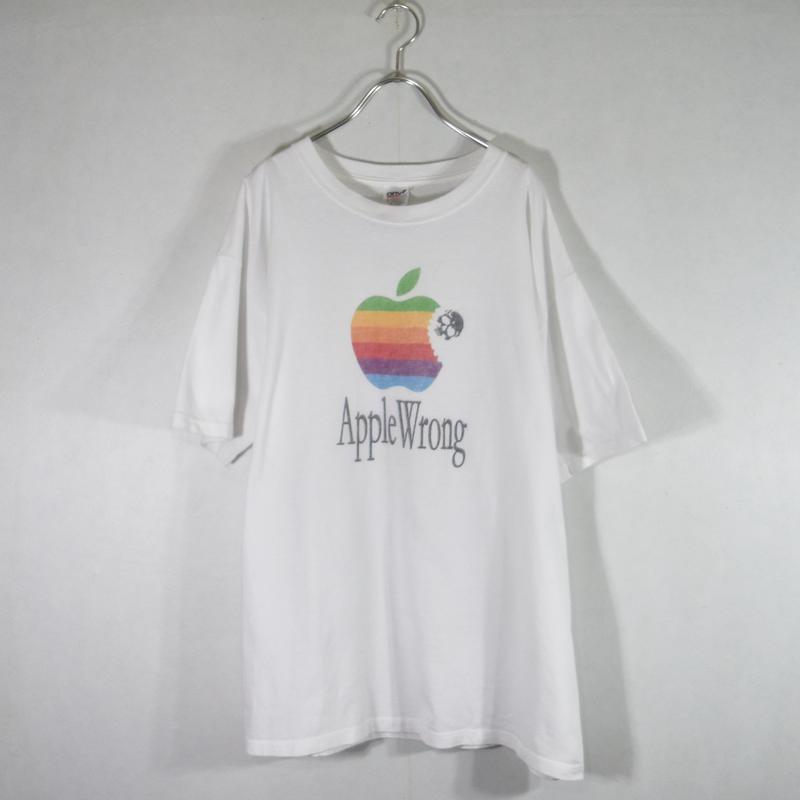 ~00's Apple パロディTee/T-0013