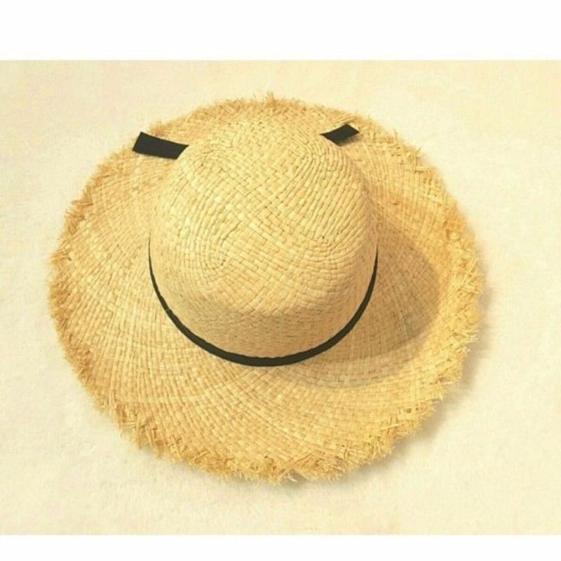 【 Kids】fringe  straw hat