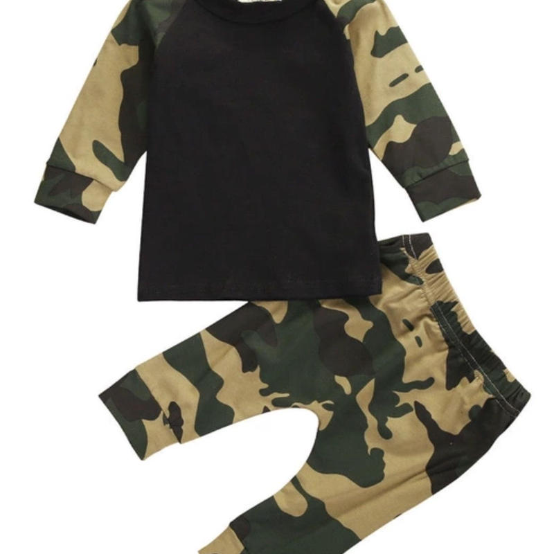 【Kids 】camouflage set-up