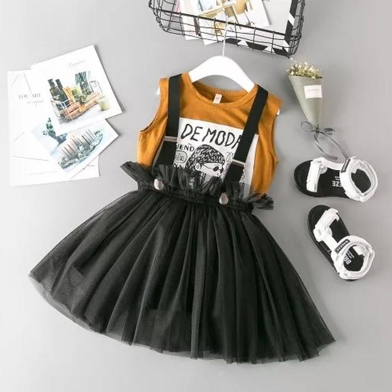 GW☆sale  タンクトップ+パフスカート