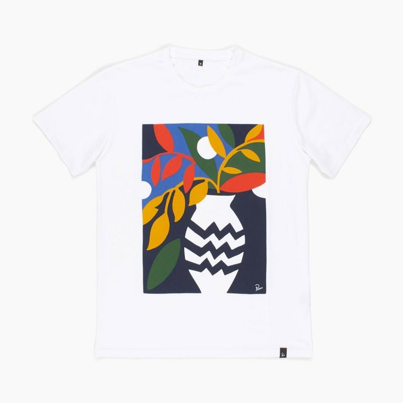 by Parra / T-SHIRT STILL LIFE WITH PLANT