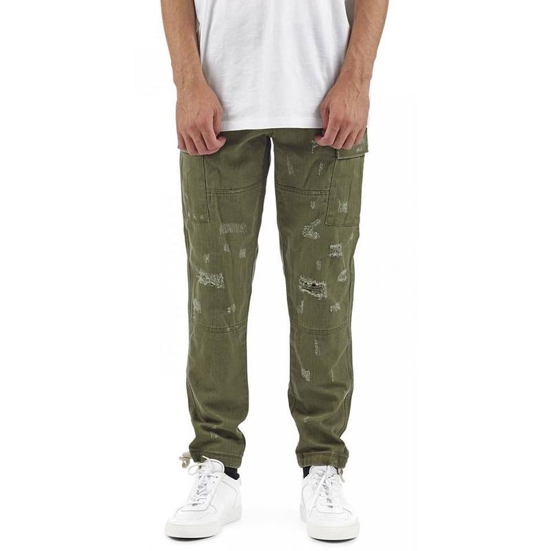 I LOVE UGLY / ARMY CARGO PANT - MOSS GREEN