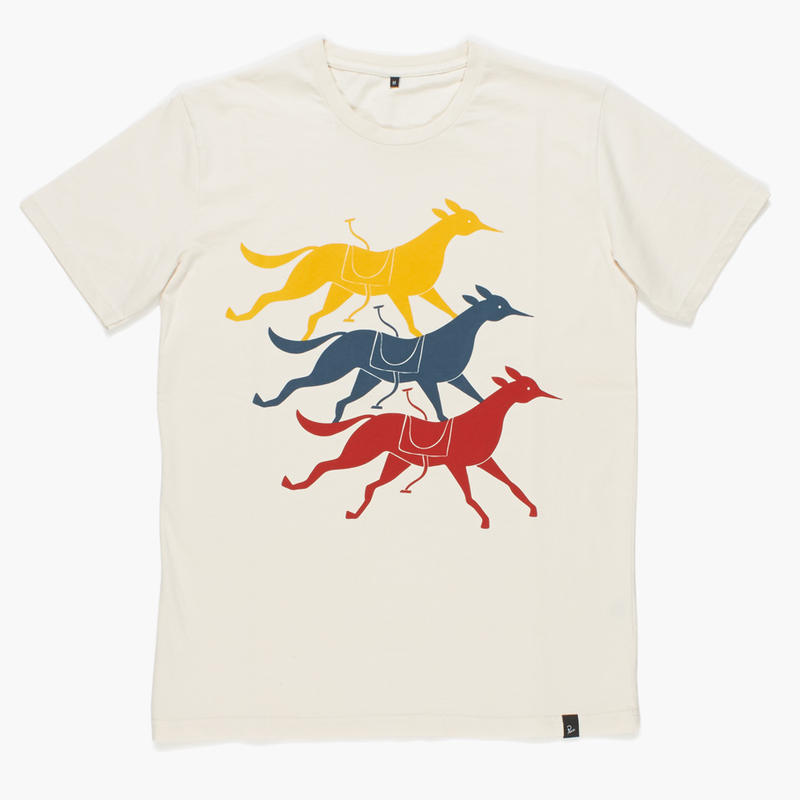 by Parra / T-SHIRT - HORSE CLUB