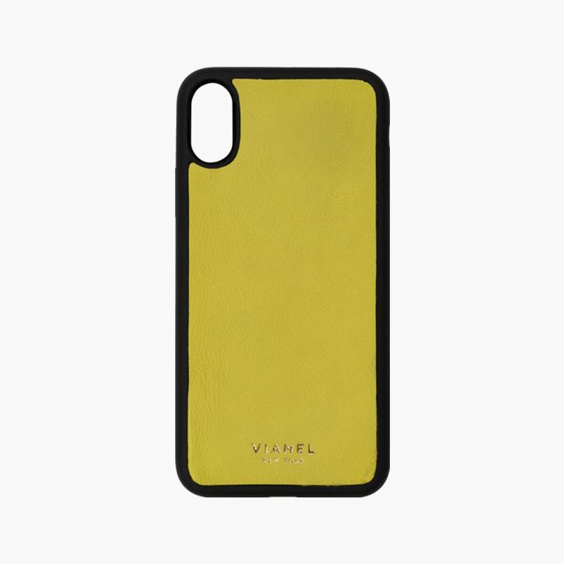 VIANEL NEW YORK/ Flex iPhone Xs/X Case  - Calfskin Achid