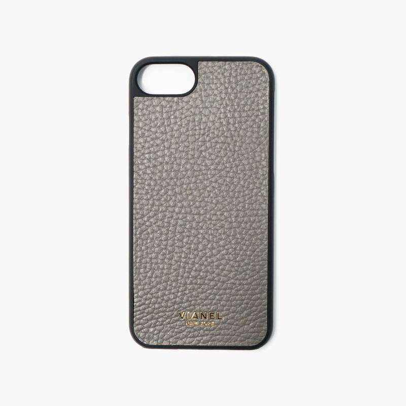 VIANEL NEW YORK - iPhone 8/7 Case - Calfskin Fog