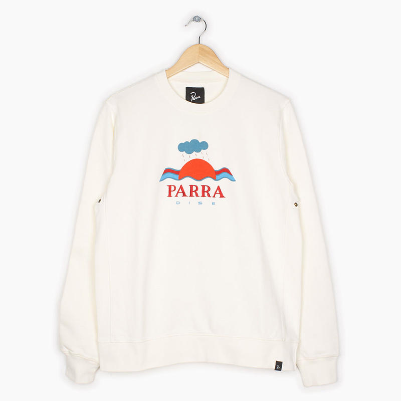 by Parra / crew neck parra dise