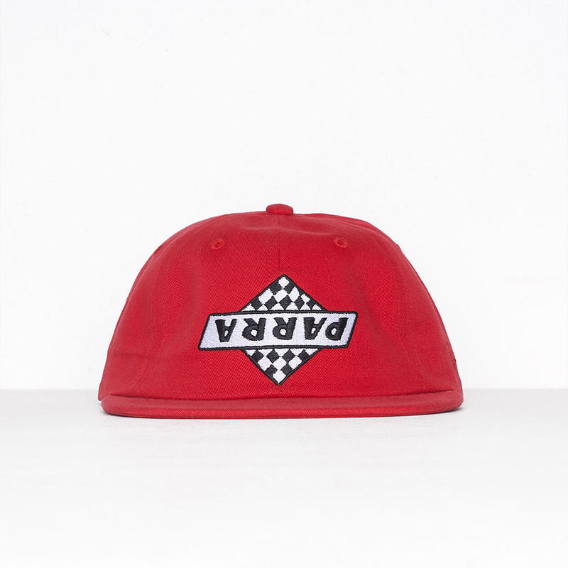 by Parra / 6 panel not racing - red
