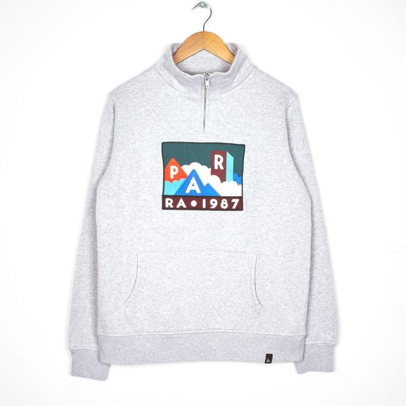 by Parra / QUARTER ZIP PULLOVER MOUNTAINS OF 1987