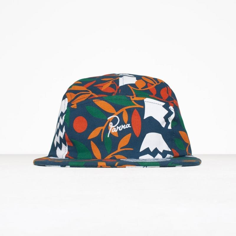 by Parra / 5 PANEL VOLLEY HAT STILL LIFE WITH PLANTS