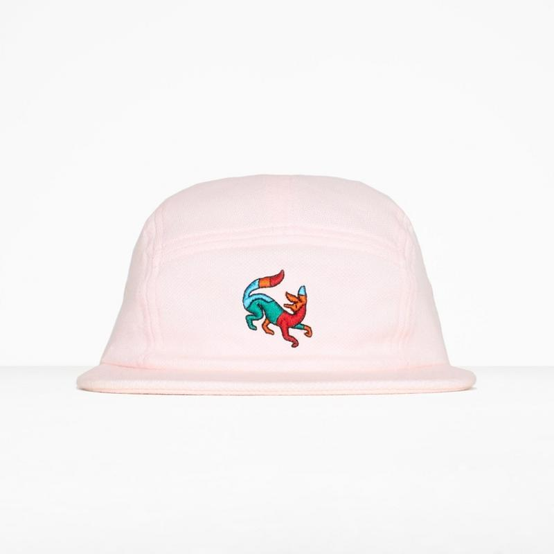 by Parra / 5 PANEL VOLLEY HAT CONFUSED FOX - PINK