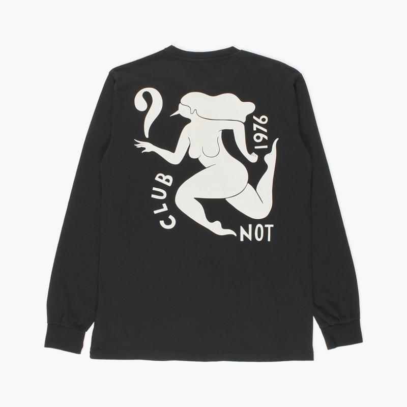 by Parra / LONG SLEEVE T-SHIRT - CLUB NOT