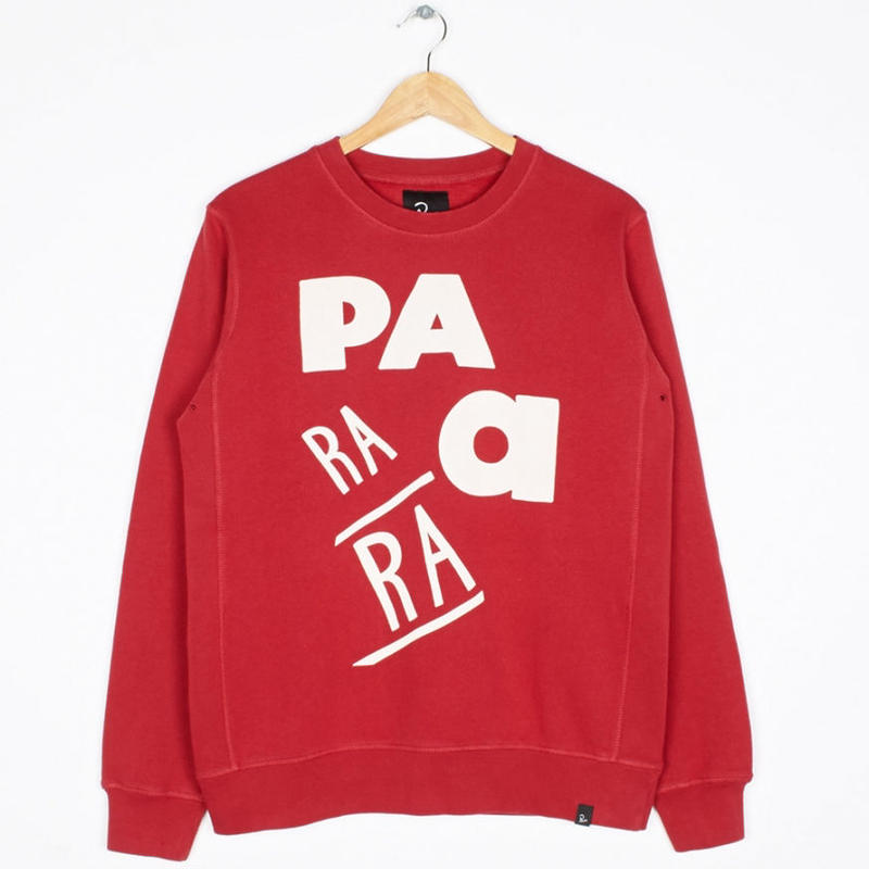 by Parra / CREW NECK SWEATER - GARAGE