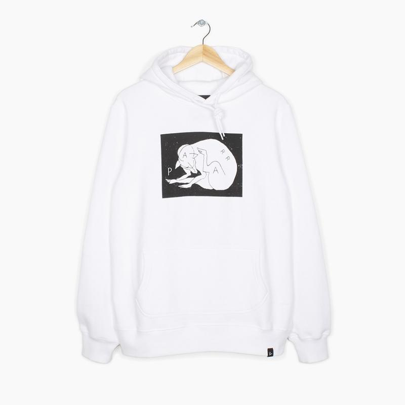 by Parra / HOODED SWEATER SCRATCH DOG