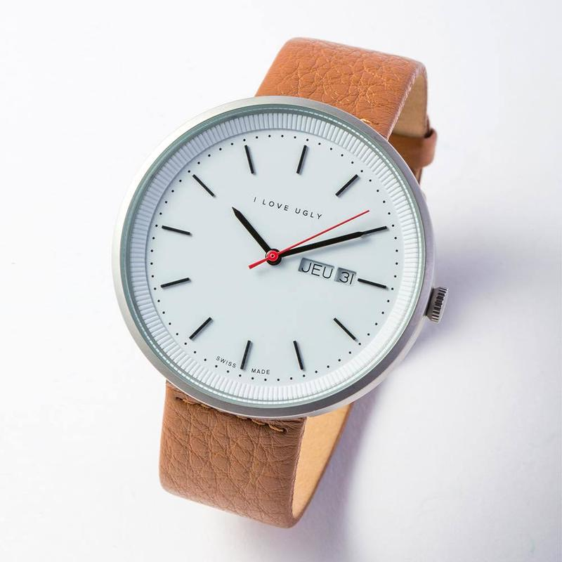I LOVE UGLY / ARCHIBALD WATCH SILVER